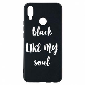 Etui na Huawei P Smart Plus Black like my soul