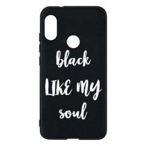 Etui na Mi A2 Lite Black like my soul