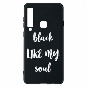Etui na Samsung A9 2018 Black like my soul