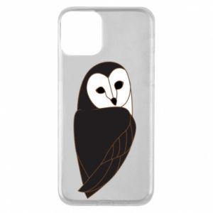 Etui na iPhone 11 Black owl