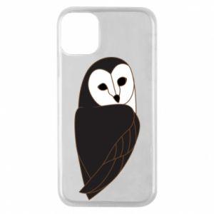 Etui na iPhone 11 Pro Black owl