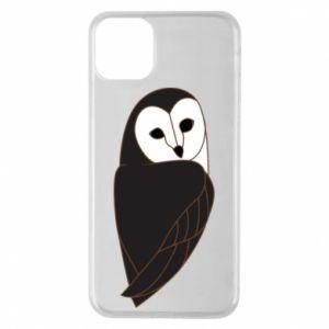 Etui na iPhone 11 Pro Max Black owl