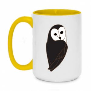Kubek dwukolorowy 450ml Black owl