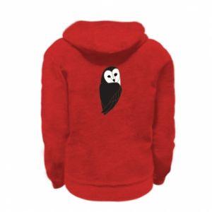 Bluza na zamek dziecięca Black owl