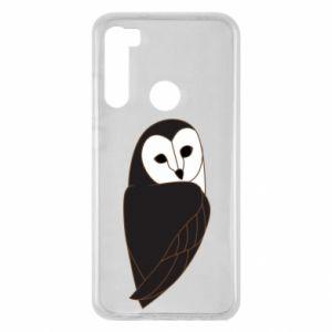 Etui na Xiaomi Redmi Note 8 Black owl