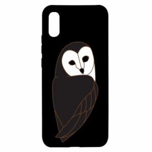 Etui na Xiaomi Redmi 9a Black owl