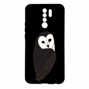 Etui na Xiaomi Redmi 9 Black owl