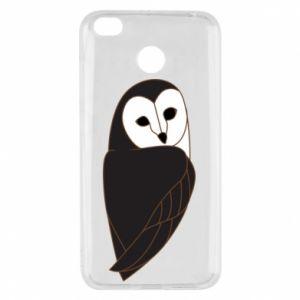 Etui na Xiaomi Redmi 4X Black owl