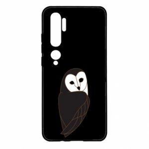 Etui na Xiaomi Mi Note 10 Black owl