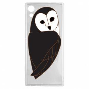 Etui na Sony Xperia XA1 Black owl