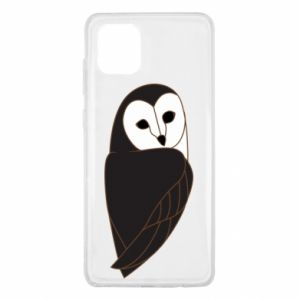 Etui na Samsung Note 10 Lite Black owl