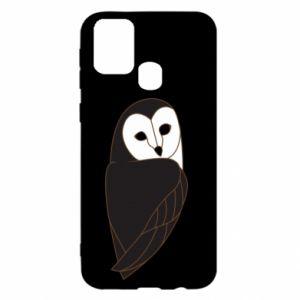 Etui na Samsung M31 Black owl