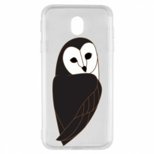 Etui na Samsung J7 2017 Black owl
