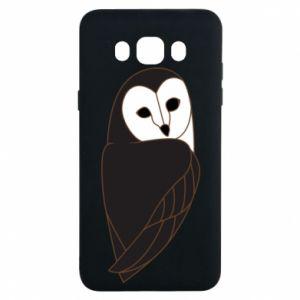 Etui na Samsung J7 2016 Black owl