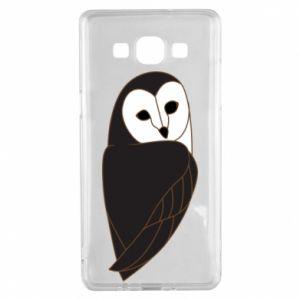 Etui na Samsung A5 2015 Black owl