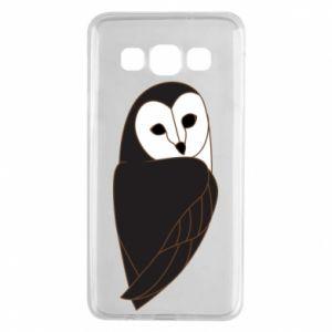 Etui na Samsung A3 2015 Black owl