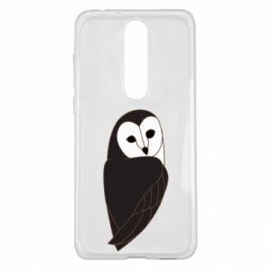 Etui na Nokia 5.1 Plus Black owl