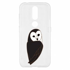 Etui na Nokia 4.2 Black owl