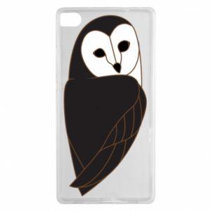 Etui na Huawei P8 Black owl