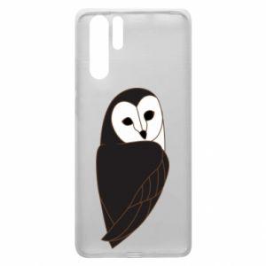 Etui na Huawei P30 Pro Black owl