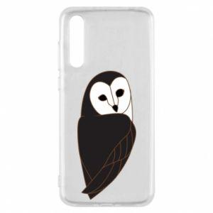 Etui na Huawei P20 Pro Black owl