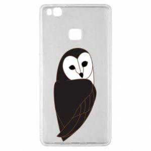 Etui na Huawei P9 Lite Black owl