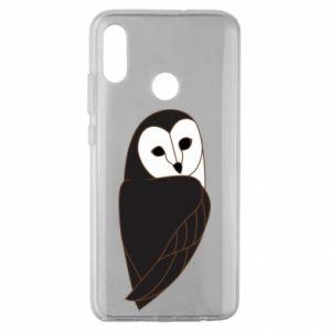Etui na Huawei Honor 10 Lite Black owl