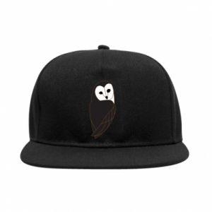 SnapBack Black owl - PrintSalon