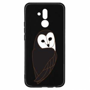 Etui na Huawei Mate 20 Lite Black owl