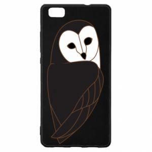Etui na Huawei P 8 Lite Black owl