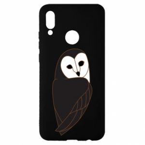 Etui na Huawei P Smart 2019 Black owl