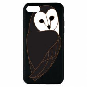 Etui na iPhone SE 2020 Black owl