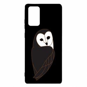Etui na Samsung Note 20 Black owl
