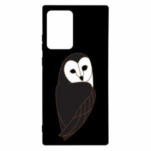 Etui na Samsung Note 20 Ultra Black owl
