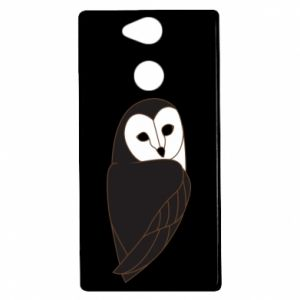 Etui na Sony Xperia XA2 Black owl