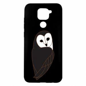 Etui na Xiaomi Redmi Note 9/Redmi 10X Black owl