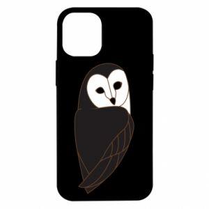 Etui na iPhone 12 Mini Black owl
