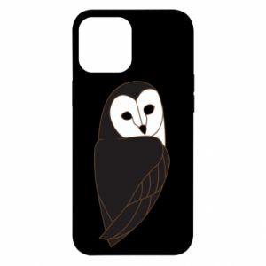 Etui na iPhone 12 Pro Max Black owl
