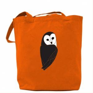 Bag Black owl - PrintSalon