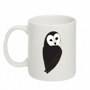 Mug 330ml Black owl