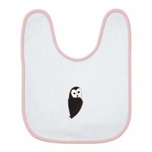 Bib Black owl - PrintSalon