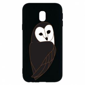 Phone case for Samsung J3 2017 Black owl - PrintSalon