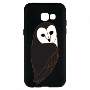 Phone case for Samsung A5 2017 Black owl - PrintSalon