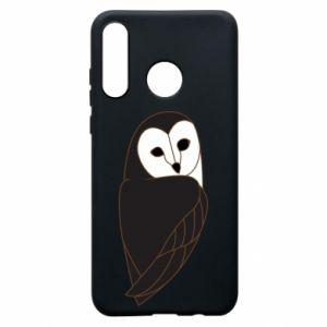Etui na Huawei P30 Lite Black owl