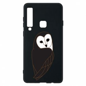 Phone case for Samsung A9 2018 Black owl - PrintSalon