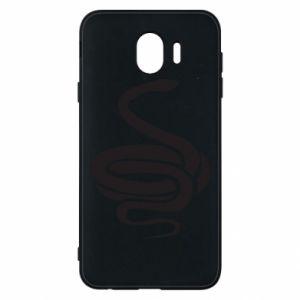 Phone case for Samsung J4 Black rattlesnake - PrintSalon