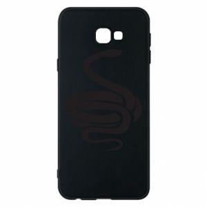 Phone case for Samsung J4 Plus 2018 Black rattlesnake - PrintSalon