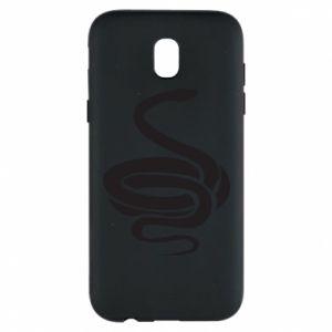 Phone case for Samsung J5 2017 Black rattlesnake - PrintSalon