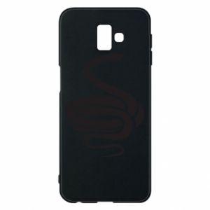 Phone case for Samsung J6 Plus 2018 Black rattlesnake - PrintSalon
