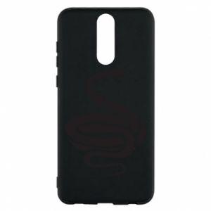 Phone case for Huawei Mate 10 Lite Black rattlesnake - PrintSalon